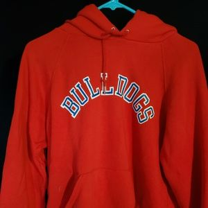 Fresno State Bulldogs Red Hoodie Vintage